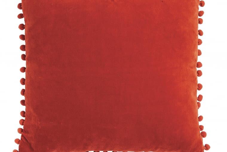 TK Maxx: Czerwona poduszka, 74,99 zł