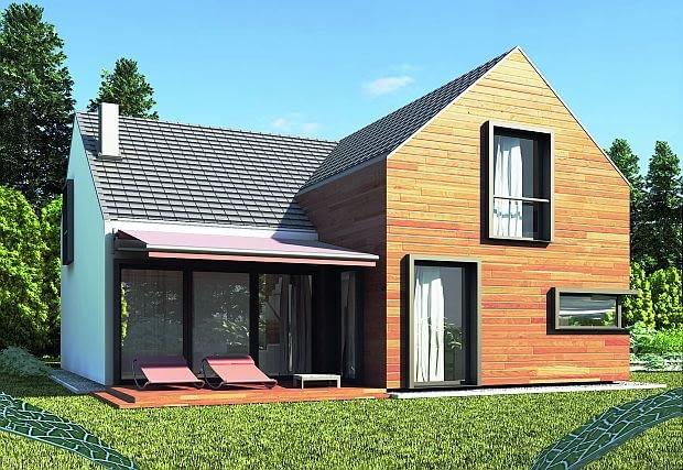 projekty domów, poddasze