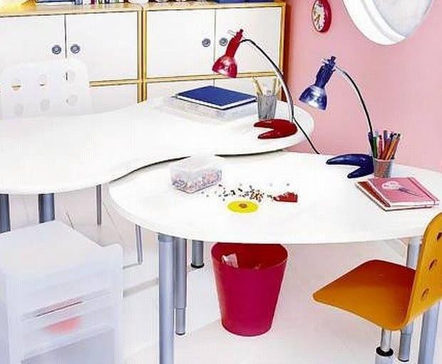 Lampy, biurka