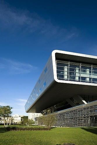 Chińska Biblioteka Narodowa, Pekin, Chiny, proj. KSP - Jürgen Engel Architekten ECADI - East China Architecture Design Institute, 2008