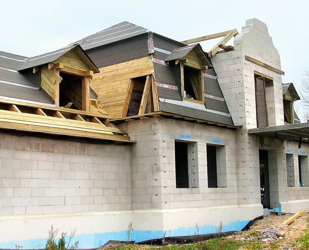 ściany jednowarstwowe, materiały budowlane, beton komórkowy