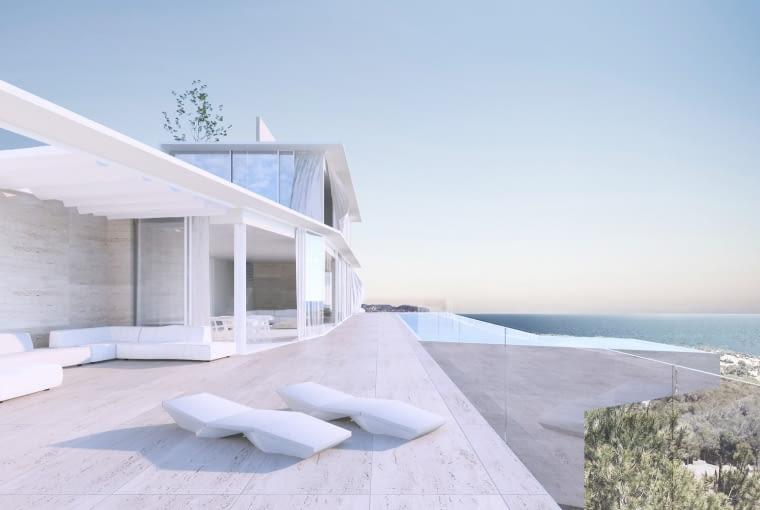 Villa Benissa w Hiszpanii