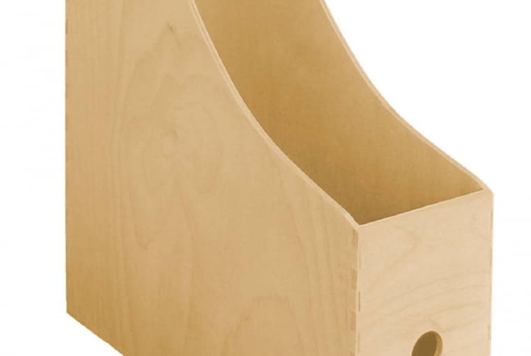 Segregator, 25 x 9 cm, wys. 31 cm, 18 zł, craftroom.pl