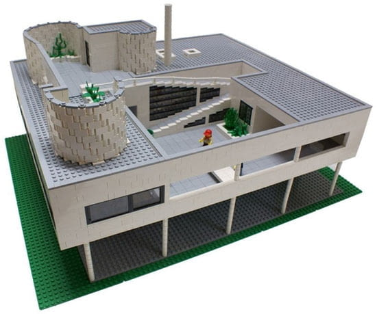 lego, le corbusier, willa savoye