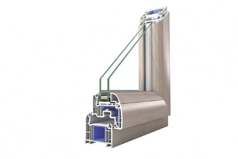 Wycena firmy OKNOPLAST, www.oknoplast.com.pl: System: profil z PVC Prolux, kolor Winchester, zestaw szybowy dwukomorowy, Uw = 0,9 W/(m2K). Cena netto ok. 18 388 zł*). Cena brutto ok. 22 618 zł*). *) ze względu na maksymalną powierzchnię okna, które wykonuje producent wycena wykonana dla niesymetrycznego podziału okna Nt2 (po bokach dwa nieco szersze stałe szklenia, w środku drzwi nieznacznie węższe)