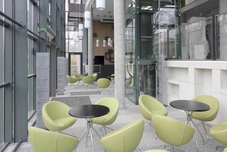 Kawiarenka w bibliotece opolskiej