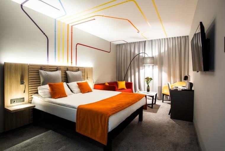 Wnętrza hotelu ibis Styles Warszawa City