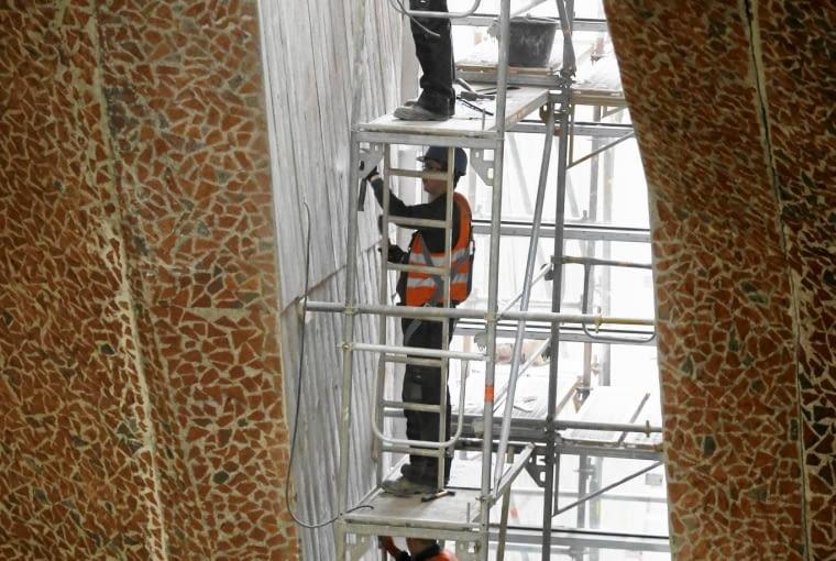 21.09.2015 Torun . Budowa sali koncertowej na Jordankach . Fot. Mikolaj Kuras / Agencja Gazeta DLOTO strony lokalne GW - Toruń ZDJĘCIE DO WKŁADKI: DLOTO strony lokalne GW - Toruń