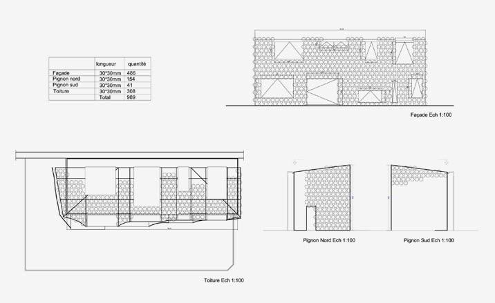 """""""Lost in Paris"""" House, francja, paryż, architektura ekologiczna, dom jednorodzinny, projekt, plan"""
