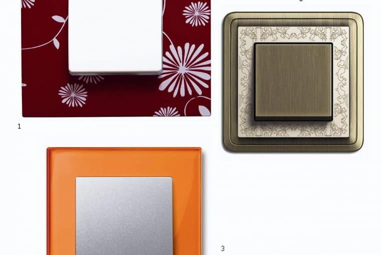 Kuchnie. Wybraliśmy dla was: włączniki<br/> 1. Z tworzywa sztucznego, Kontakt-Simon, 50 zł<br/> 2. Z brązu i mosiądzu, Tema, 210 zł<br/> 3. Z tworzywa sztucznego, Schneider Electric, 84,99 zł