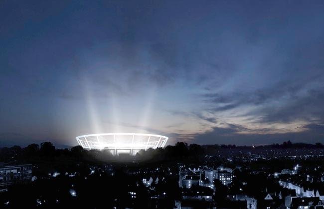 Stadion Śląski - wizualizacja