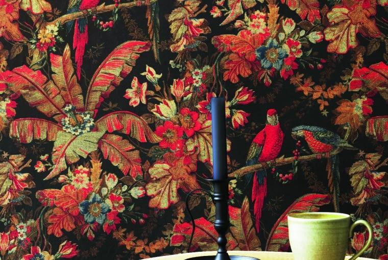 Wyrafinowane wzory, zdobiące tkaniny Braquenié/Pierre Frey powstają na podstawie archiwalnych dokumentów. www.pierrefrey.com