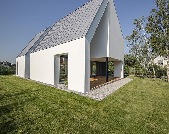 Wyróżnienie: budynek jednorodzinny nowy. STR House w Starej Wsi (projekt: Beczak/Beczak/Architekci, realizacja: Zakład Remontowo-Budowlany Mariusz Sobczyk)