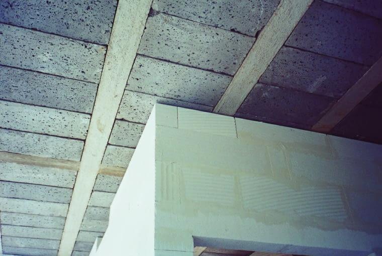 ściany działowe, stropy