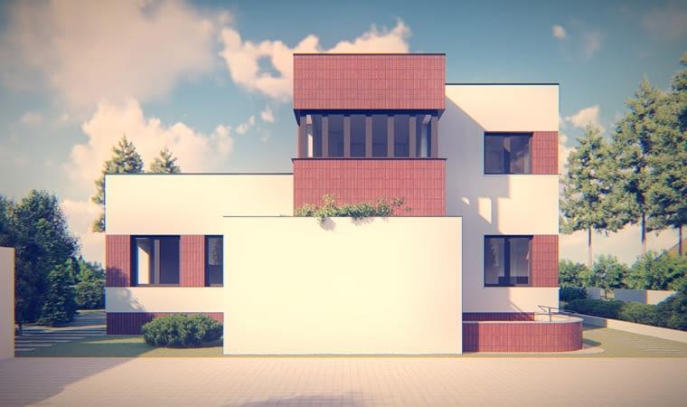 Przebudowa modernistycznej willi w Milanówku