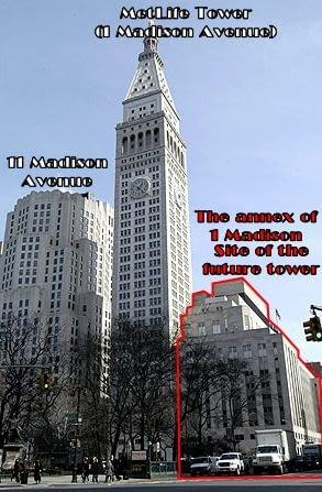 New York Tower od Daniela Libeskinda ma być nadbudową już istniejącego budynku