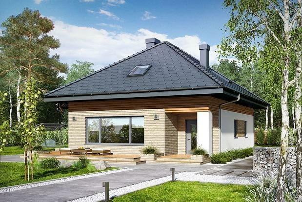 domy w programie MdM, projekty domów