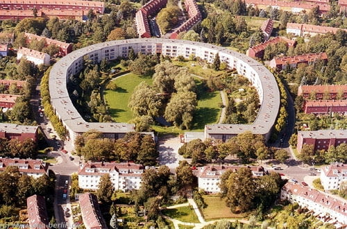 Bruno Taut, modernizm, Berlin, Unesco, Podkowa