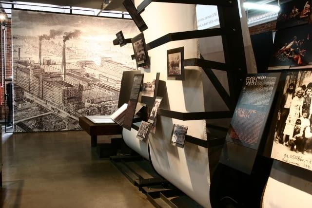 projekt, muzeum, nizio, polska architektura, fabryka poznanskiego, lodz