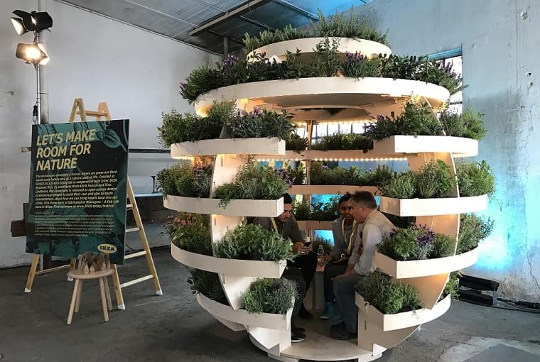 The Growroom - ogród sferyczny.