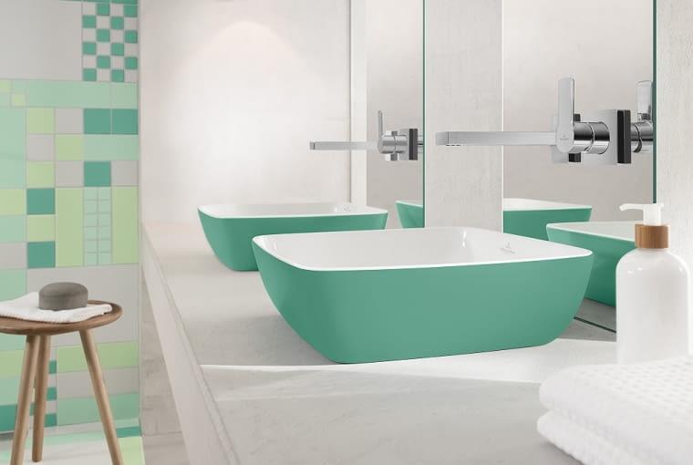Umywalka Artis Color, umywalka, pastele, pastelowa umywalka, villeroy