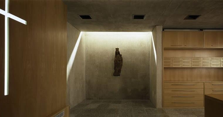Nowa zakrystia w koszalińskiej katedrze, projekt- HS99 (2001)