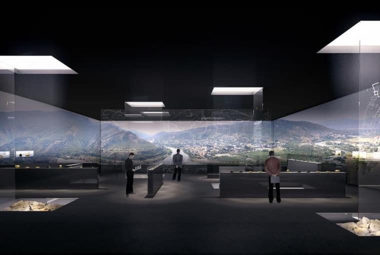 Mccheta - Muzeum Historyczne. Proj. Nizio Design International