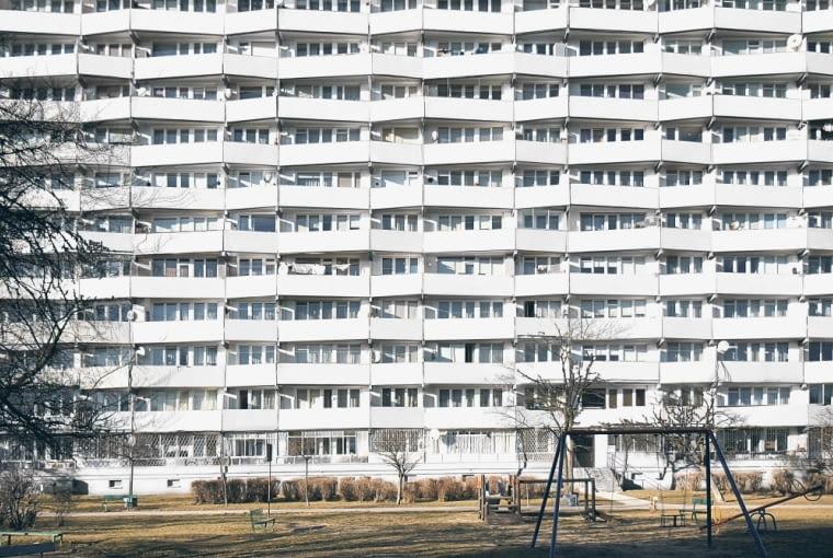 Falowiec Przy Ul Jagiellońskiej - widok na balkony