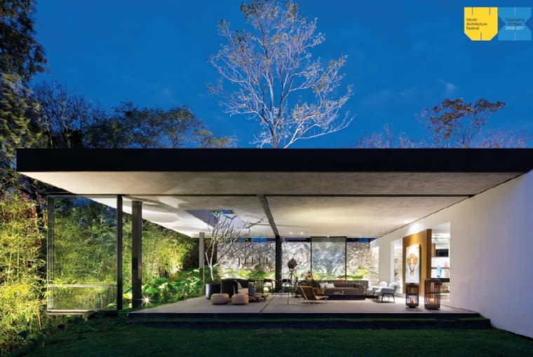 Casa Escondida, La Libertad w Salwadorze, projekt: EMC Arquitectura