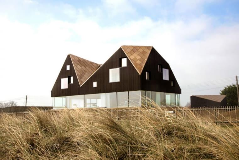 Dune House w hrabstwie Suffolk, projekt: Mole Architects