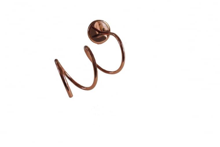 Uchwyt Metalowy, uchwyt ścienny na suszarkę do włosów, Valevsky Home Jewerly, 250 zł, valevsky.com