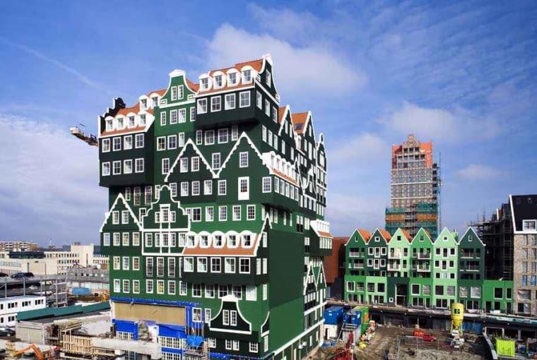 nietypowe, wieża, holandia, hotel