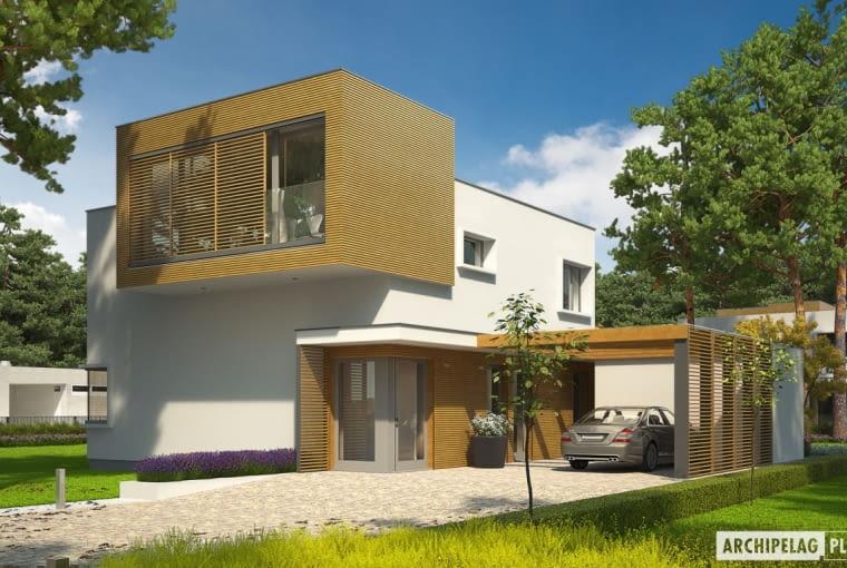 Dom EX 10 II (z wiatą)