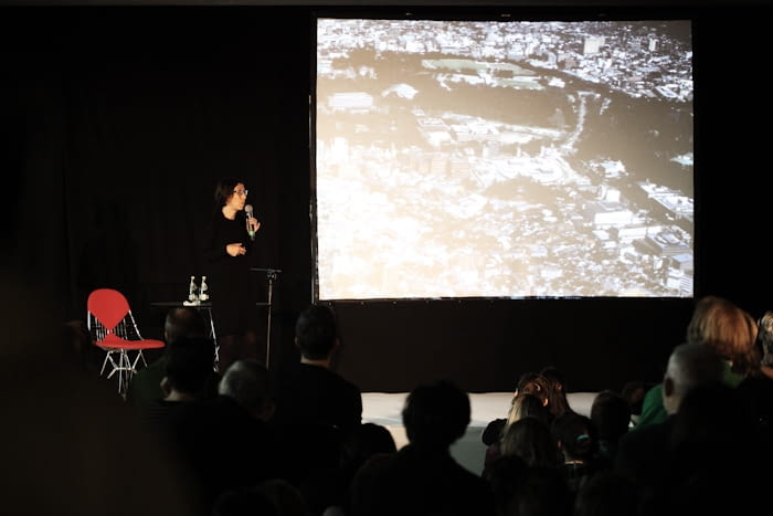 Kazuyo Sejima podczas wtorkowego wykładu w Hotelu Europejskim