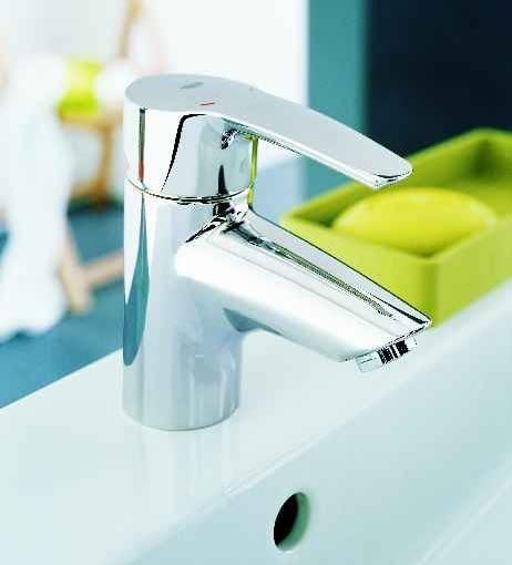 Przy umywalce najczęściej montuje się stojącą baterię jednouchwytową