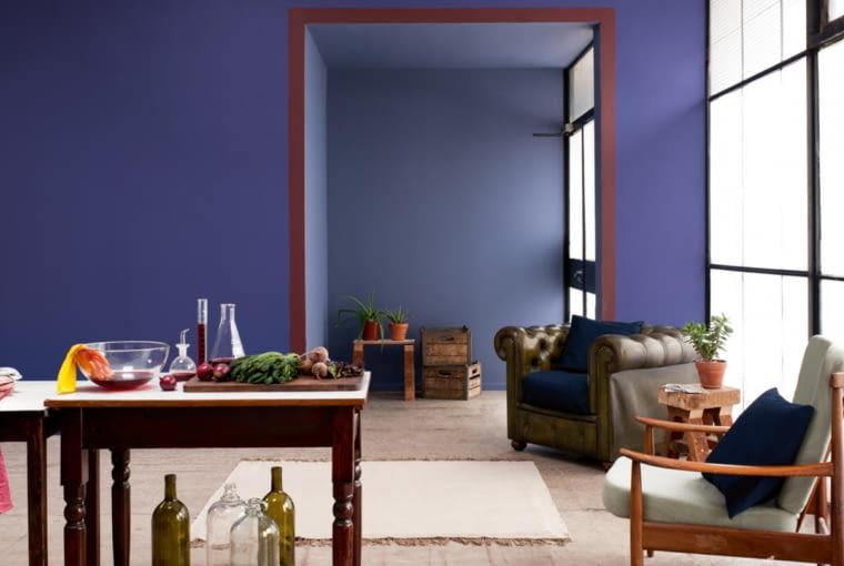 Zastrzyk koloru w salonie