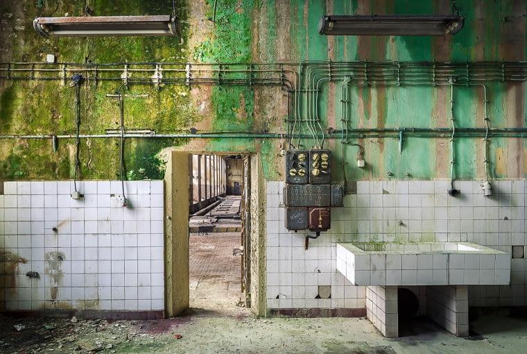 Fabryka Włókiennicza Scheiblera i Grohmana, po II wojnie upaństwowiona i przemianowana na Zakłady Przemysłu Bawełnianego im. Józefa Stalina. Następnie funkcjonowały pod nazwami im. Obrońców Pokoju i Uniontex.