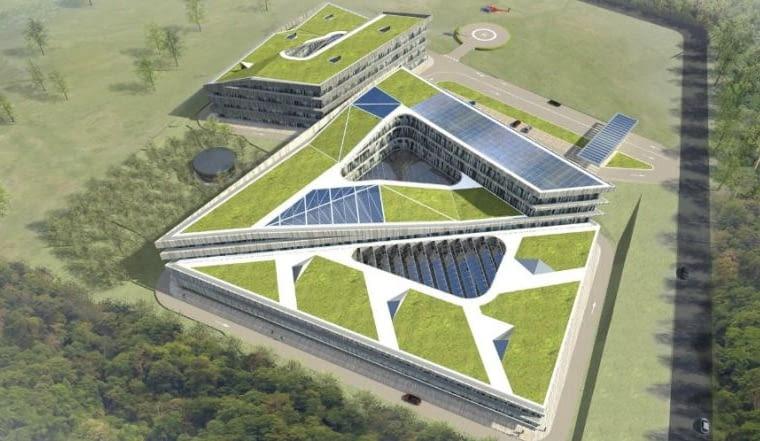 Centrum Badań i Rozwoju Renova, proj. EGM architecten, DRC International, Arup Nederland, źródło: www.egm.nl