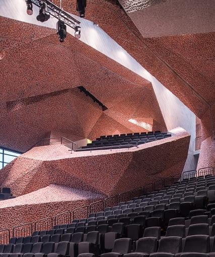 Centrum Kulturalno Kongresowe Jordanki w Toruniu, projekt Menis Arquitectos