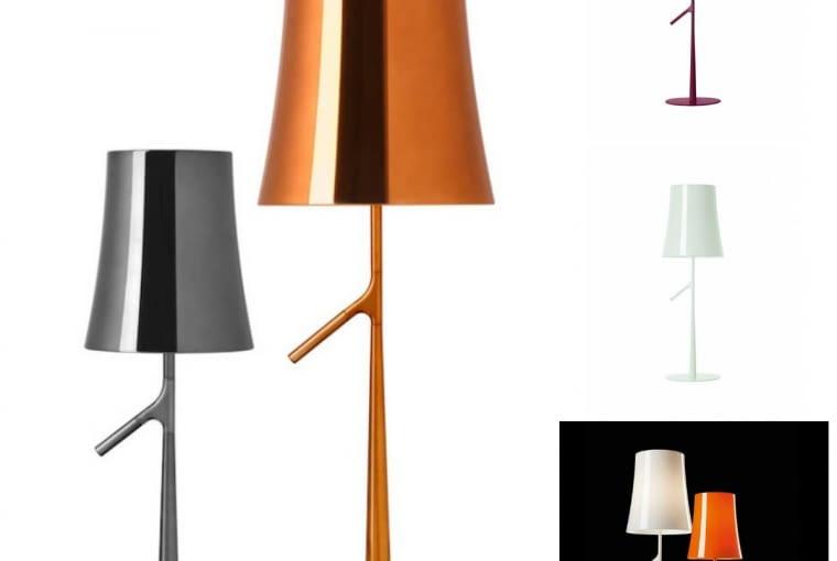 Lampy Birdie, proj. Ludovica i Roberto Palomba