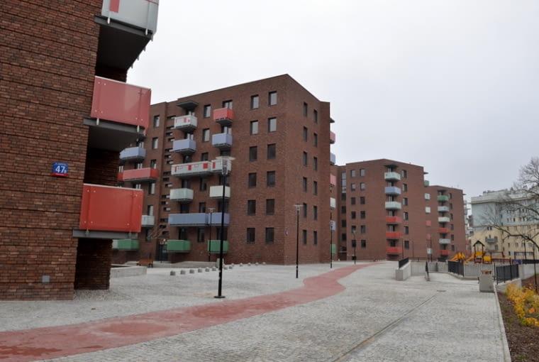Nowe budynki przy ul. Jagiellońskiej w Warszawie