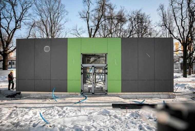 Toaleta na pl. Litewskim w Lublinie