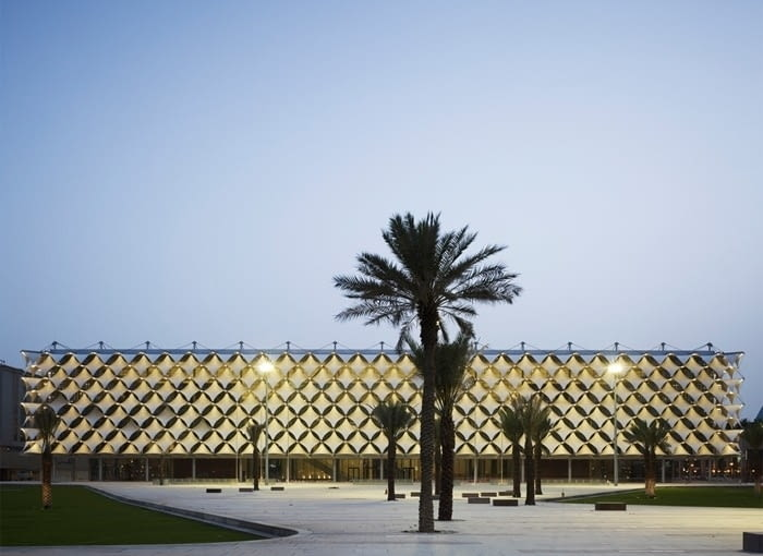 Biblioteka Narodowa króla Fahada, Rijad, źródło zdjęcia: mat. pras. 2018 RIBA International Prize, www.architecture.com