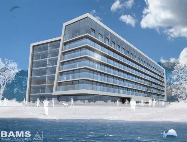 Hotel Marine w Kołobrzegu. Wizualizacja.