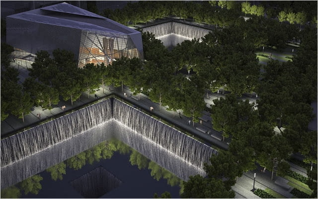 snohetta, nowy jork, ground zero, muzeum, 9/11