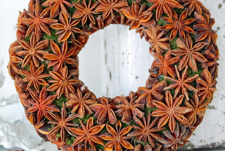 Wreath of anise, step available