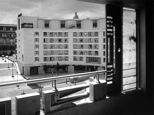 Zabudowa Placu Chalon, Paryż, 1995, proj. Stanisław Fiszer