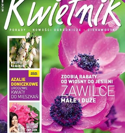 Okładka miesięcznika Kwietnik 03/2012