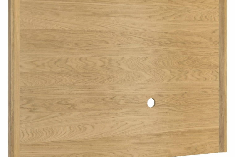 Panel MAGANDA, drewno fornirowane dębem, 150 x 4 cm, wys. 103 cm, cena: 410 zł, Mebin