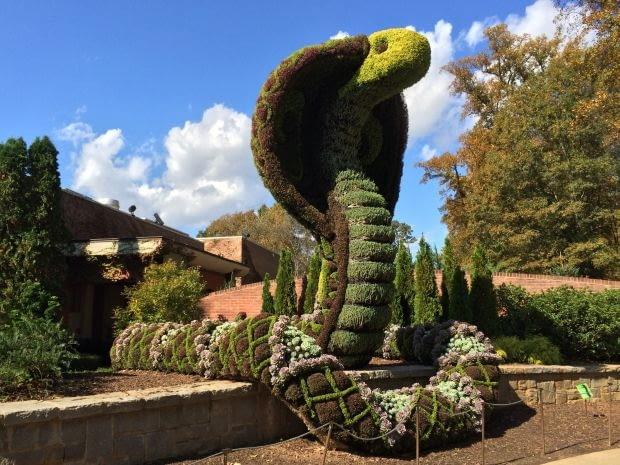 %Topiary at Atlanta Botanical Gardens